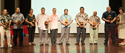 APIPA Principals at 2015 APIPA Conference, CNMI